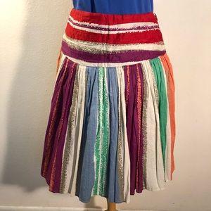 Dresses & Skirts - Vintage multi-colored skirt, versatile, GUC, 14